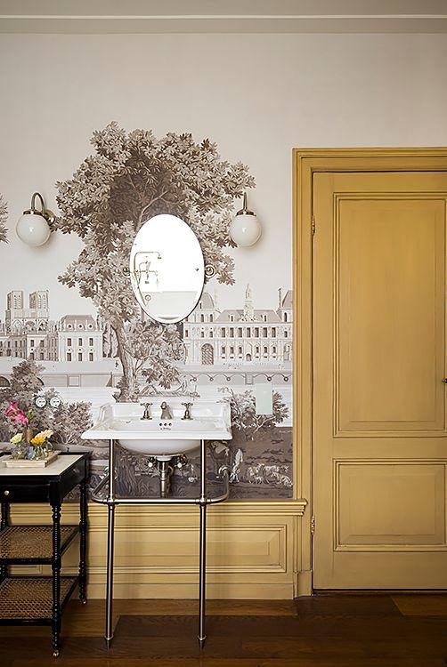 Behang de Gournay  - Doornebal Interiors