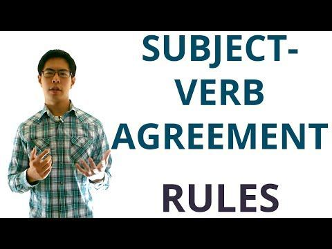 Subject Verb Agreement Rules (and Tricky Scenarios) - English Grammar Lesson - YouTube