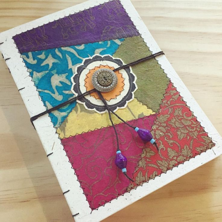 Coptic bound keepsake journal. This one's a little bit special 😊