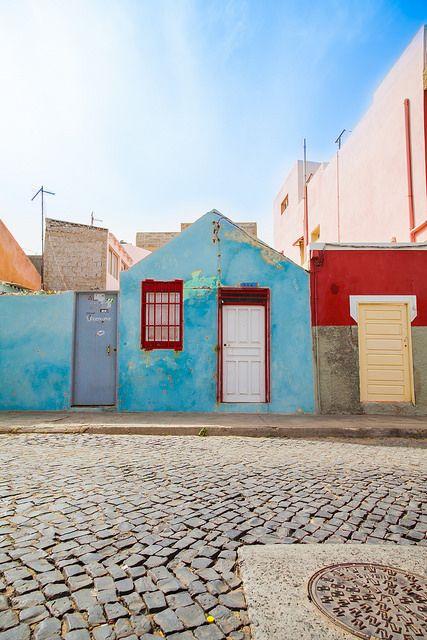 Streets of Santa Maria, Sal, Kaapverdie