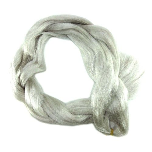 X-Pression Ultra Braid, 60 Silver White (Afro Beauty)