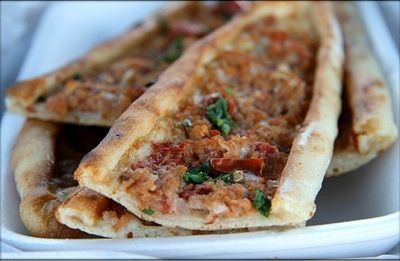 Turkish Pizza (Pide)