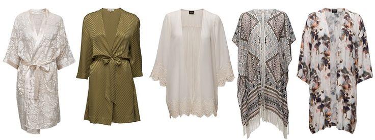 Kimono en lækker alt-i-en kjole, bluse og cardigan til den danske sommer.