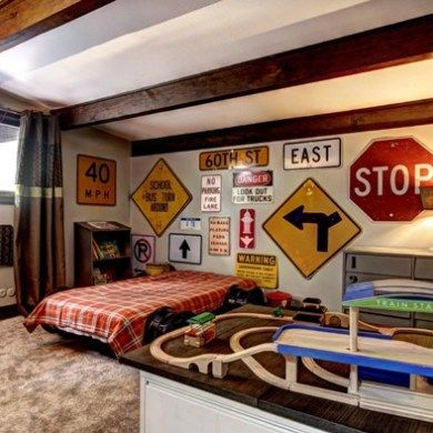 retro bedroom ideas for teenage boys