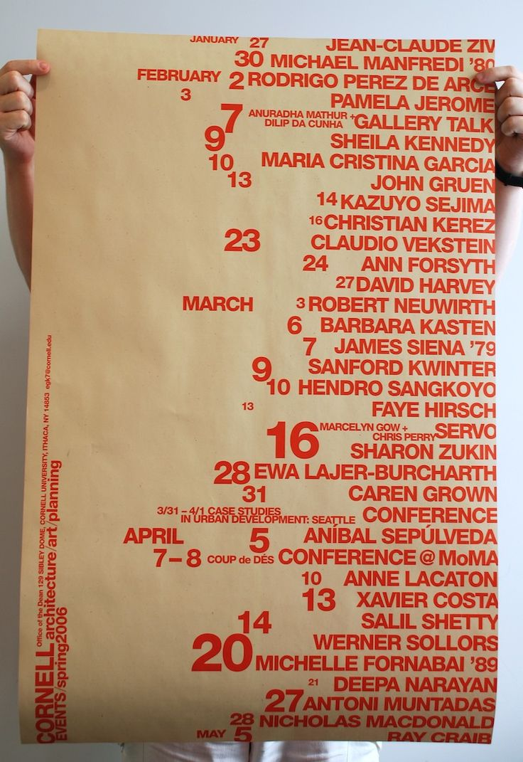 11 Posters for Cornell | Soulellis