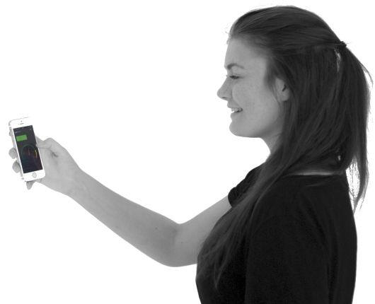 Fleksitid skal være enkelt! To trykk på mobilen. Inn og ut. Ikke noe mer. Null stress!