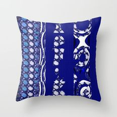 Blue serie#3 Throw Pillow