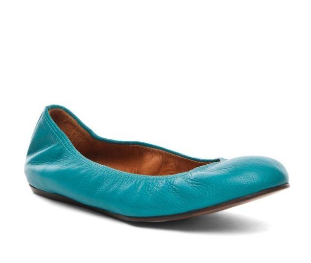 Lanvin Blue Suede Cendrillon Ballerina Flats 18qSw