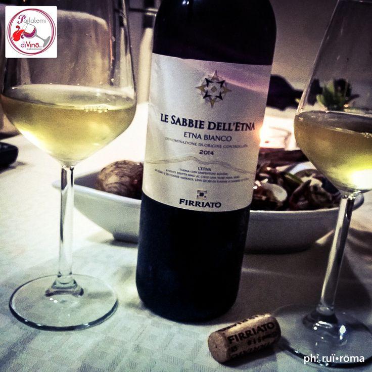 Parlatemi di Vino... Le Sabbie dell'Etna, Etna Bianco DOC, Cantine Firriato, Sicilia.  #LeSabbieDellEtna #EtnaBianco #doc #Firriato #Sicilia #bianco #white #italianwine #vinoitaliano #wine #glass #instagood #whitewine #Italy #style #excellent #winelover #winespectrum #instawine #solocosebuone #naples  #ruiroma #parlatemidivino https://www.facebook.com/parlatemidivino