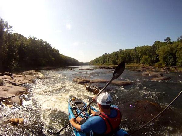 River fishing kayak basics picking the perfect river for Canoe vs kayak fishing