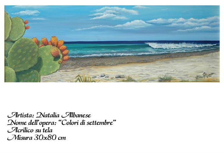 Acrilicosu tela  2006  autore Natalia Albanese