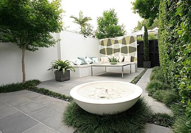 1000 ideas about small backyard patio on pinterest backyard patio small backyards and paver for Jardines chicos decoracion
