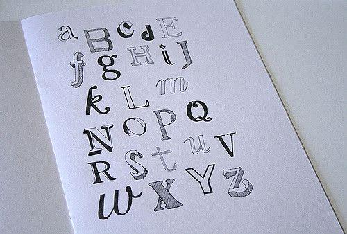 https://flic.kr/p/4xZAWj   alphabet   an experiment in hand drawn type