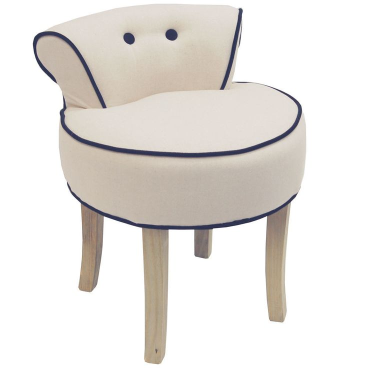 Dressing Table Stool Ottoman Pouffe Vintage Seat Bedroom Furniture Chair Cream  sc 1 st  Pinterest & The 25+ best Cream dressing table stools ideas on Pinterest ... islam-shia.org