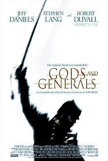 Gods and Generals - I have watched this movie so many times that I just need to buy it.  It is so good that I bought the book and others relating to this story