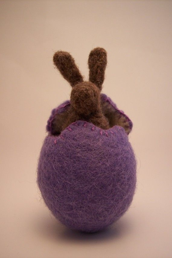 Wool Felt Easter Egg