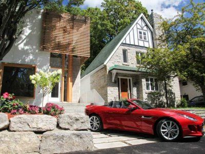 House Comes With Free Jaguar - Business Insider