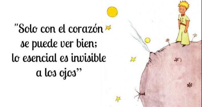"""""""Lo esencial es invisible a los ojos"""" y, por lo tanto, ha permanecido empolvado en el estante de los libros de la infancia sin ser leído de nuevo por mucho tiempo, inadvertido cuan"""