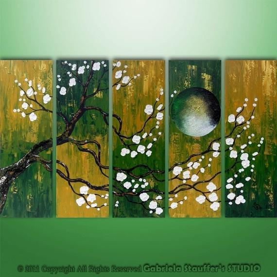 121 best images about multi panel art on pinterest for Multi canvas art diy