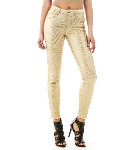 Marciano Zebra Skinny Denim Pants Guess prix Jeans Femme Guess 170.00 €