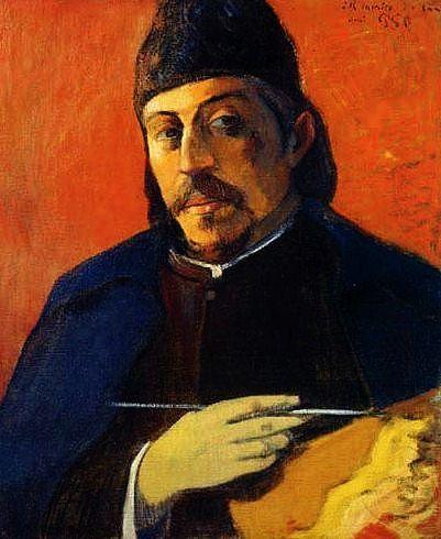 Paul Gauguin - Self portrait by Eugene Henri Paul Gauguin