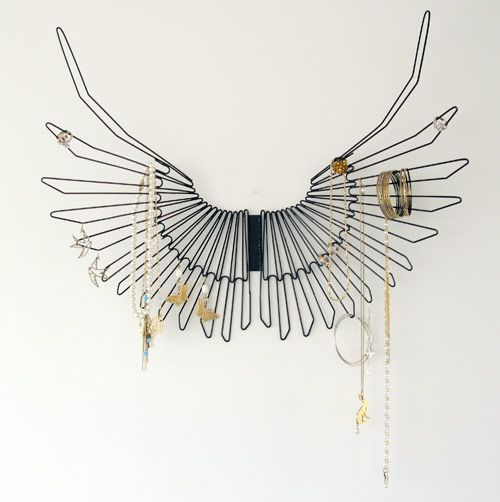 Raven wings jewelry holder