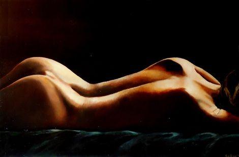 Tatiana Siedlova, Alice. oil paint. 120#80 cm.  on ArtStack #tatiana-siedlova #art