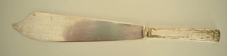 Vintage Prima Nysilver Tortenmesser/Tortenheber, versilbertes Metall aus den 1950er Jahren aus Schweden. von VintageLoppisStyle auf Etsy