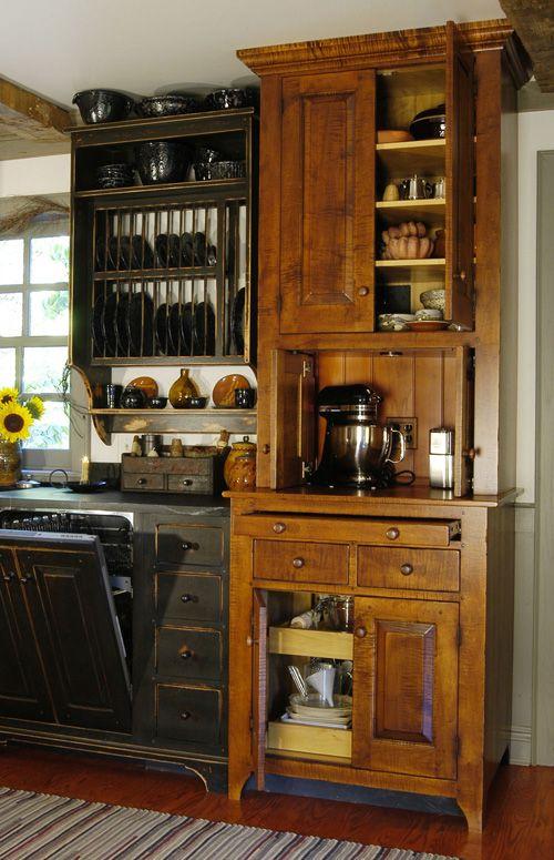 1417 Best Primitive Farmhouse Kitchen Images On Pinterest Dream Kitchens Country