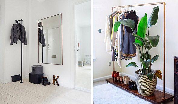 Τα ρούχα που έχουμε ήδη φορέσει δεν ξαναμπαίνουν στην ντουλάπα, μαζί με τα καθαρά. Δείτε, λοιπόν, πώς μπορείτε να τα τακτοποιείτε όμορφα και... με στιλ, σε πρωτότυπες αυτοσχέδιες κρεμάστρες!