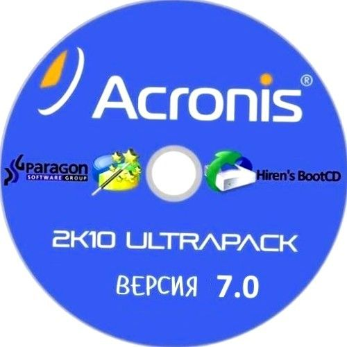 Acronis 2k10 UltraPack 7 10