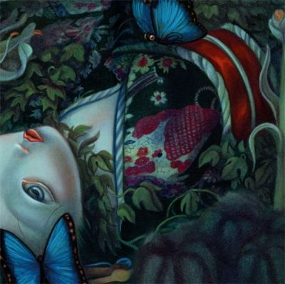 Madame Butterfly- by one of my favorite illustrators- Benjamin LaCombe