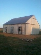 50 best pole barn ideas images on pinterest for Cheap barn kits