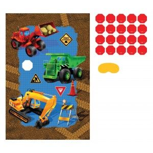 Construction Trucks 1 Party Game