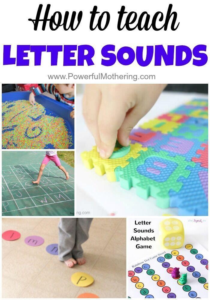 how to teach ea sound