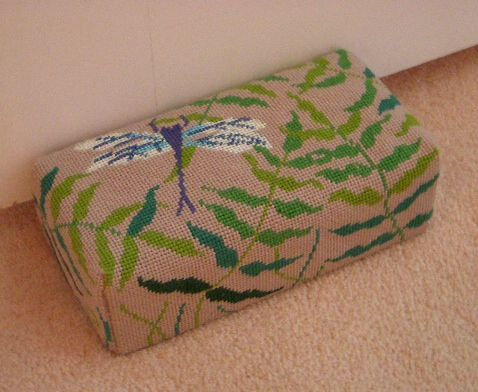 Dragonfly Brick Cover Needlepoint Shop Finishing