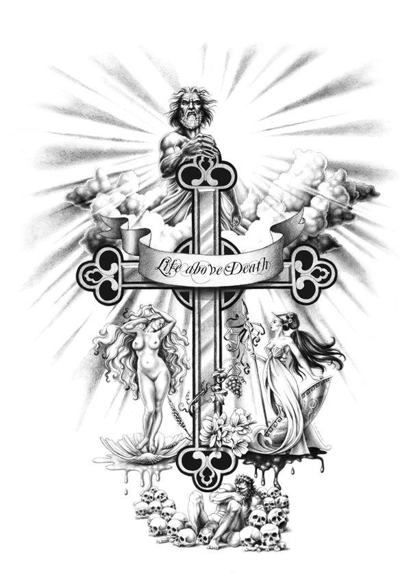 tattoo kreuz zeus                                                       …