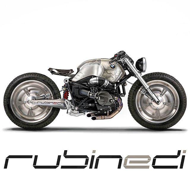 BMW R nineT Custom by Rubinedi design #custommotorcycles #motoscustom | caferacerpasion.com