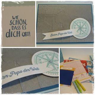 Kreatives aus Papier Stampin Up Vatertags Geschenk