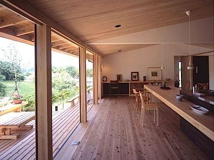 リビング-キッチン(東御の家) - キッチン事例|SUVACO(スバコ)