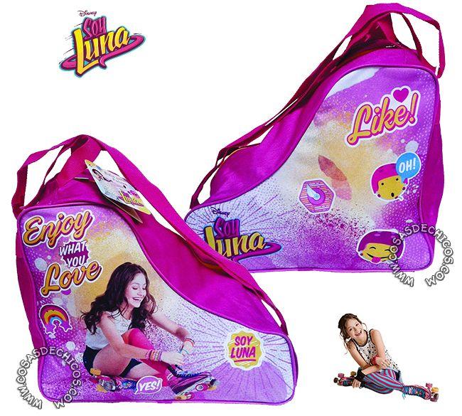 #Bolso Porta #Patines #SoyLuna #Original #Disney @SoyLuna #CosasDeChicos www.CosasDeChicos.com