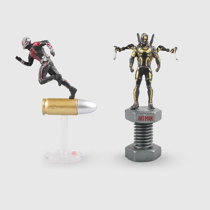 2style 6.5cm Marvel Comics Antman Yellow Jacket Model Toys Movie Anime Mini PVC Action Figure New in Box