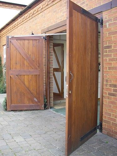 swing door kit will give over 90 degrees of opening