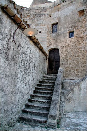 Room Entrance at Sextantio Hotel ~ Sassi di Matera, Basilicata, Italy - what a hauntingly beautiful place - I LOVED it