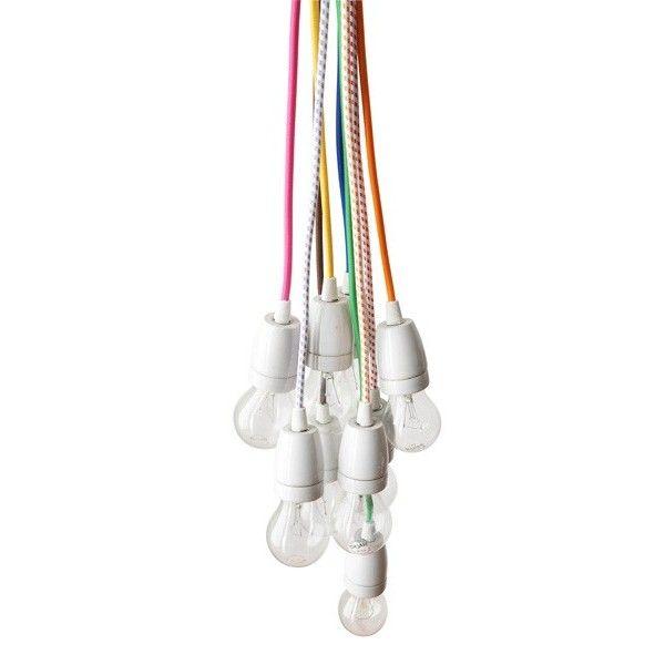 Les 17 meilleures id es de la cat gorie cable electrique sur pinterest coul - Cable suspendu luminaire ...