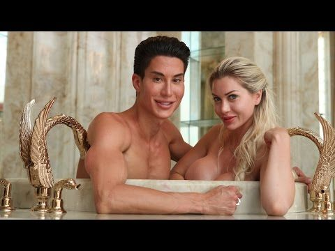 Pixee Fox And Justin Jedlica Are The Real Life Barbie And Ken: This is something that I do not understand. Going to these extremes on surgeries and appearance. She seems physically in danger now. She has such a large bust and removed the support and protection in her waist meant to help support that...If their bodies start to reject/attack iimplants, it could go bad very fast too. They list the surgeries and price tag for both ot them.