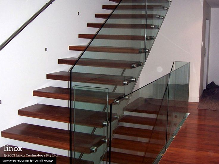 The Wagner Companies   Glass Stair Railing