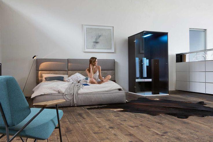 die stilsicheren b intense infrarotkabinen sind ein highlight f r jeden wohnbereich und. Black Bedroom Furniture Sets. Home Design Ideas