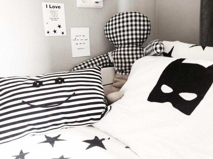 Boys room. Batman pillow