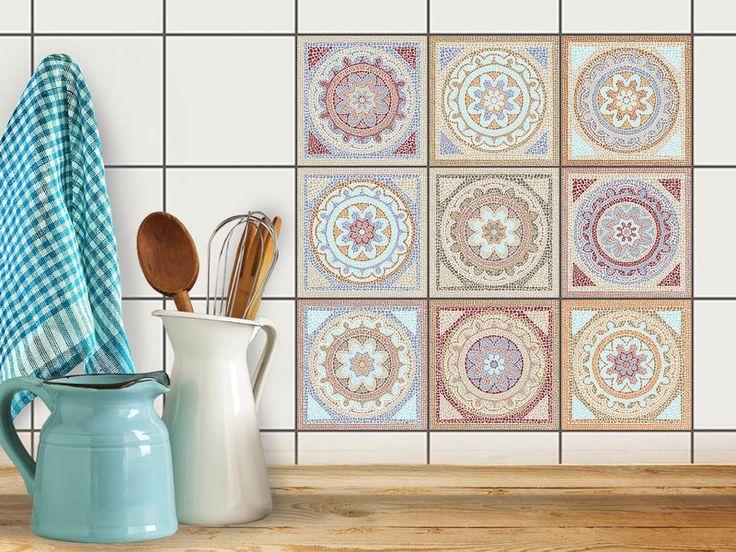 Die besten 25+ Fliesenaufkleber mosaik Ideen auf Pinterest - mosaik ideen bad